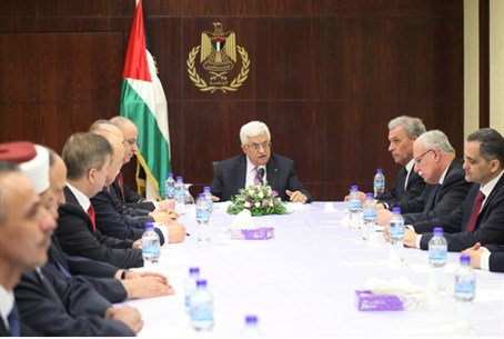 Mahmoud Abbas addresses unity government