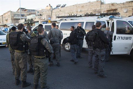 Police in Jerusalem (file)