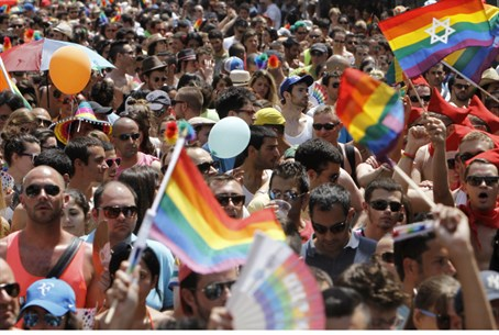 Gay pride parade, Tel Aviv (file). Civil marr