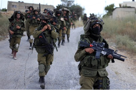 IDF soldiers in Operation Brother's Keeper