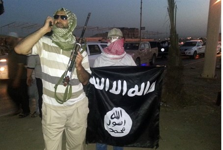 Islamic State supporters in Mosul, Iraq