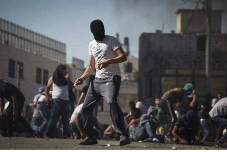 Arab riots in Shuafat