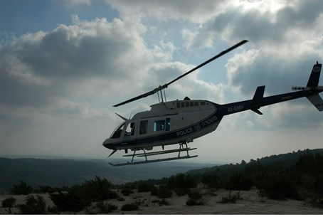 Police helicopter (file)