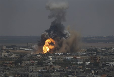 IAF strike on target in Rafah, Gaza, 8th June