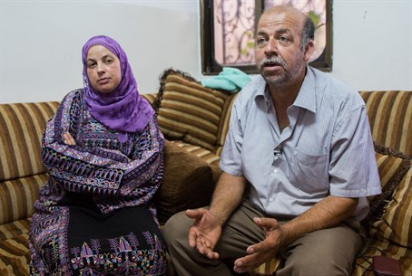 Mohammed Abu Khder's parents