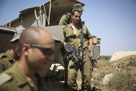 IDF soldiers in Operation Protective Edge