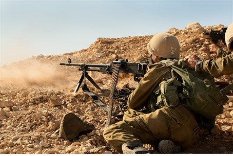 Givati soldiers during training drill (file)