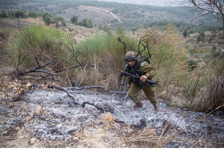 Damage from Katyusha in N. Israel (file)