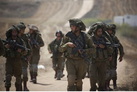 IDF soldiers in Gaza