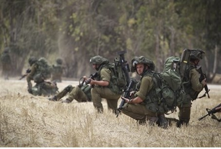 IDF forces in Gaza