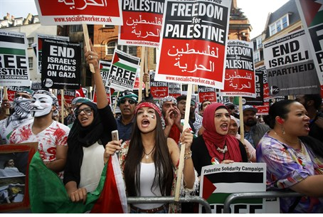Anti-Israel rally (file)