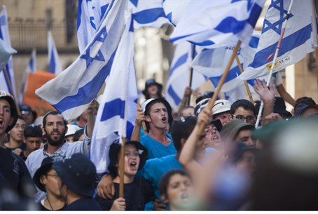 Pro-Israel rally (illustrative)