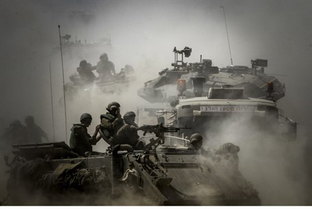 IDF forces in Gaza (file)