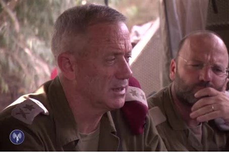 Chief of Staff Benny Gantz