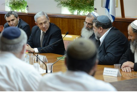 Tzohar Rabbis with PM Netanyahu