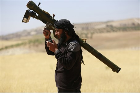 Al-Nusra Front fighter in Syria