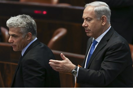 Netanyahu and Lapid