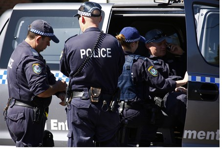 Australian counter-terror police (file)