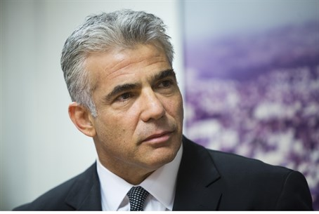 Down, but not out? Yair Lapid