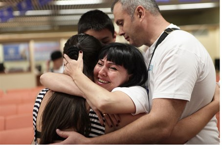 Reunited: Zheludev family makes aliyah