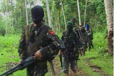 ISIS-linked Abu Sayyaf terrorists (file)