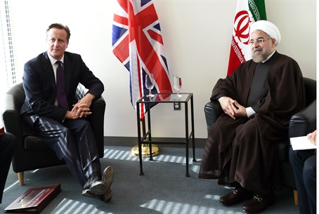 Cameron and Rouhani (archive)