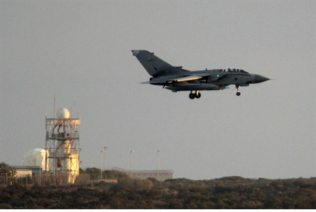 RAF Tornado jets join Iraq airstrikes against