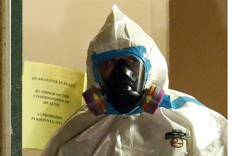 Dallas Ebola health worker (file)