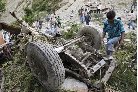Nepal bus crash (archive)
