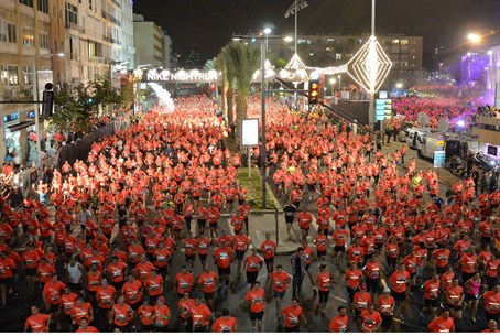 Tel Aviv Night Run (file)