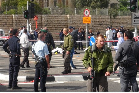 Scene of Jerusalem attack