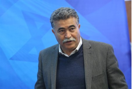 Environmental Protection Minister Amir Peretz