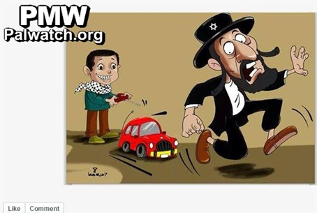 Anti-Semitic caricature