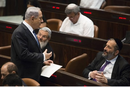 Netanyahu and Deri