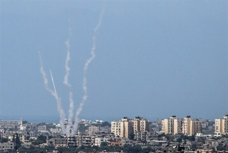 Gaza rockets (file)