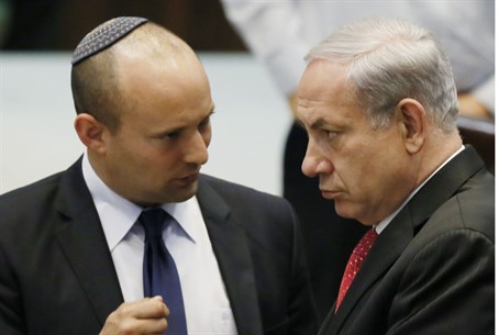 Bennett and Netanyahu