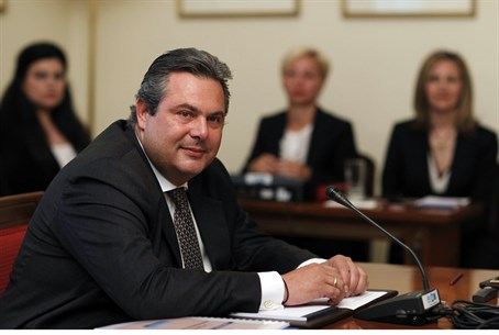 Independent Greeks party leader Panos Kammenos
