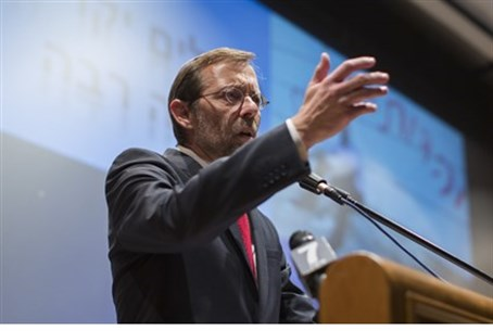 Feiglin addresses supporters