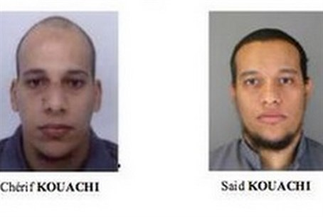 Prime suspects: Cherif and Said Kouachi