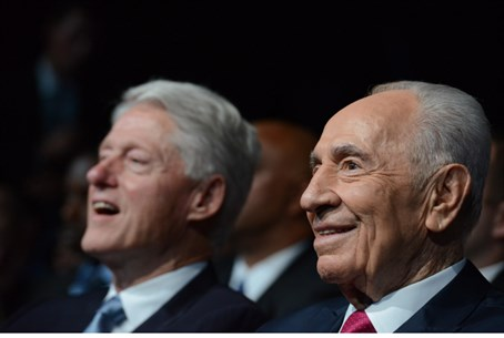 Shimon Peres, Bill Clinton