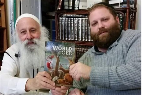 Rabbi Chaim Clorfene and Rabbi David Katz