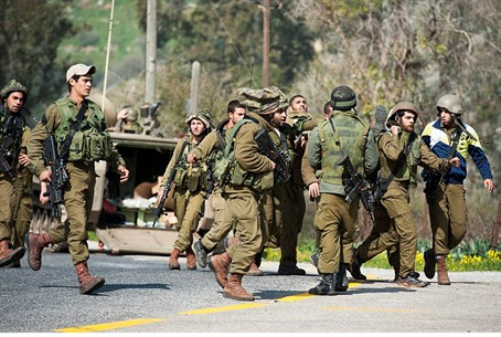 IDF on northern border (file)