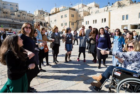 Jewish teens with disabilities visit Israel
