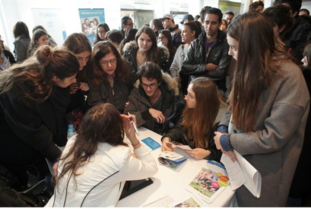 Young French Jews flock to annual Orient-a-Sion fairs