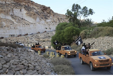 ISIS terrorists in eastern Libya