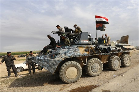 The Iraqi army beat a hasty retreat once again, despite massive US aid