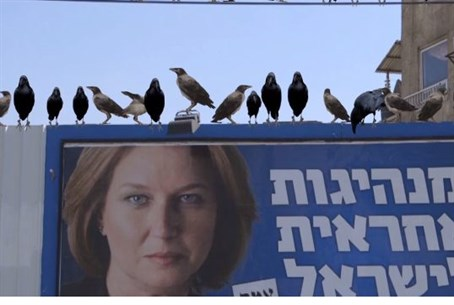 Crows and Tzipi Livni