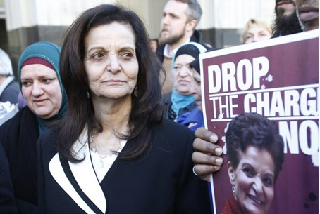 Odeh leaves courtroom