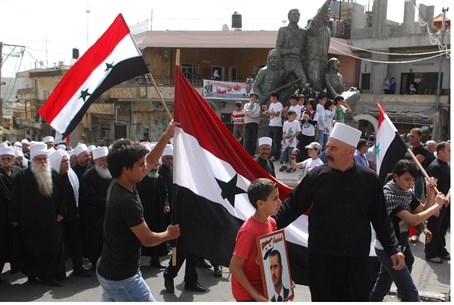 Majdal Shams Druze loyal to Syria