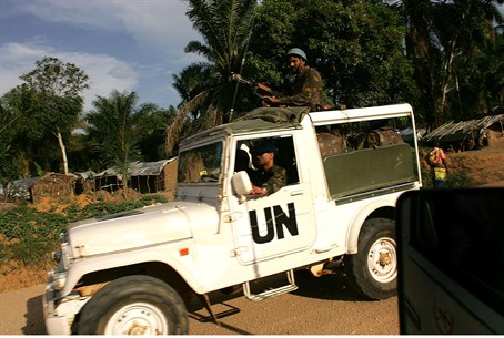 UN convoy in Congo (file)